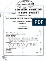 North India Christian Tract and Book Society 1928-1929 v81