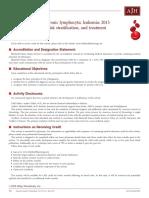 12.- Leucemia linfocítica crónica  2015