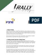 V-Rally Game Manual