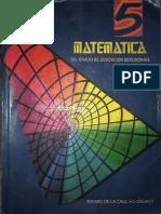 MATEMATCAS - Maximo de La Cruz Solorzano - 3er