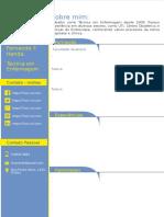 CV Template - Modelo para cv v