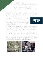 Historia de La Industria en Guatemala