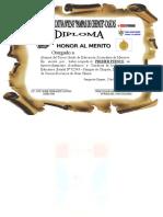 Diploma 3º Ggg