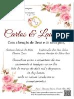 Convite de Casamento ATUALIZADA Whats