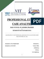 Professional Ethics Case Analysis1