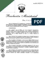 Directiva de Estabilidad - Medicamentos