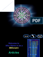 Articles_Who_Wants_to_be_a_millionaire.ppt