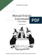 Manual Lenormand