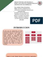 Estructura Funcional; Grupo 7