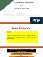 Sesion 13- Cambio Organizacional