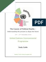 UNEP Study Guide