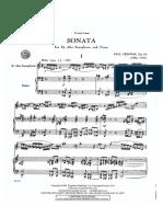 Sonate - Paul Creston (Enkel Piano)