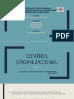 Control Organizacional; Grupo 5
