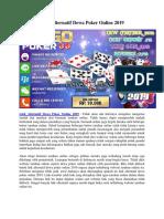 Link Alternatif Dewa Poker Online 2019