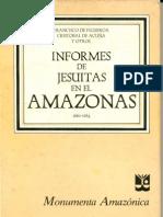 Informe de Jesuitas en El Amazonas I