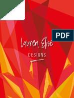 lauren elise design portfolio 2
