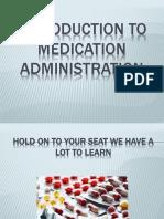 Introduction, Safety, Med Labels