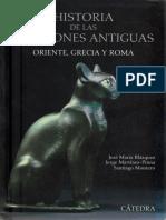 Autores Varios. - Historia de Las Religiones Antiguas. Oriente, Grecia y Roma [2011]
