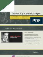 Teoria X y Y McGregor