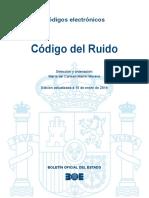 BOE-184 Codigo Del Ruido