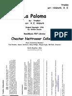La Paloma - Yradier