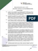 Resolucion Arcotel-2015-C-00218 Norma Tecnica de Television Abierta Analogica 04-Ago-2015
