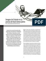 Imagen de Oriente en La Poesía de Raúl G J - David Martínez