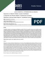 MEDEIROS, A. a., CALAZANS, R. - A Depressão Como Posição Subjetiva - Contribuições Lacanianas