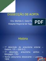Aula 09 - Aneurisma Dissecante Aorta