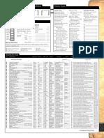 Shaper Powers d&D list