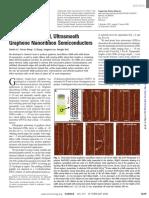 Ultrasmooth graphene