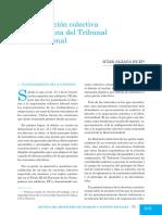 Negociacion Colectiva en La Doctrina Del Tribunal Constitucional