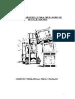 Manual Para Operadores de Autoelevadores