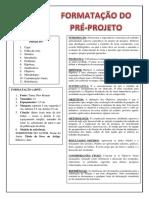 Formatação Excontec (Pre-projeto)