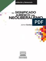 El significado Juridico del Neoliberalismo