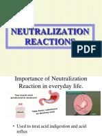 Grade 11 Neutralization