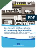 Nuevas Actitudes Hacia El Consumo y La Producción