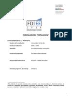 FDI EE 2018 - Encuentros Interculturales