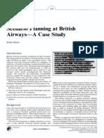 Scenario Planning at British Airways.pdf