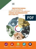 Manual OMS 2018 Prevención de infección del Sitio Quirúrgico
