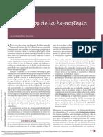 Medicina en Odontología Manejo (13. TRASTORNOS de LA HEMOSTASIA)