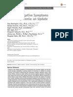 Tratando Sintomas Negativos en Esquizofrenia