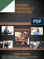 Mujeres Empresarias y Tecnología