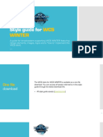 Style Guide for WCS WINTER_V072
