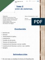 linealizacion de sistemas