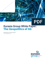 Geopolitics of 5G_Eurasia Group White Paper