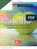 Cálculo y Sus Fundamentos Para Ingeniería y Ciencias