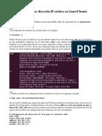 Conf i Guar Ar Tarjeta en Ubuntu