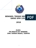 Latihan Bengkel Teknik Menjawab Sc Spm 2018