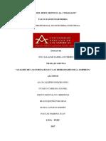 Analisis de Las Fortalezas y Debilidades de La Empresa